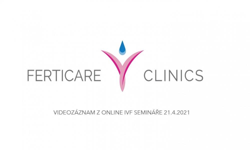 Záznam z Online IVF semináře